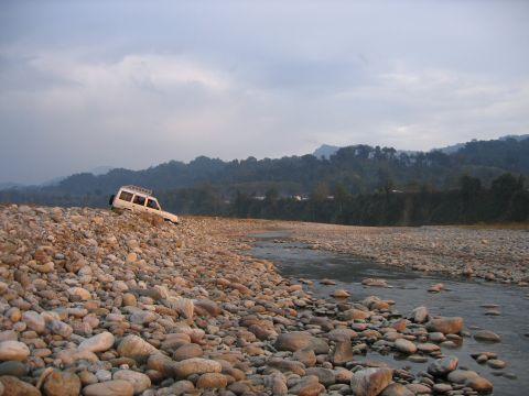 Dehing River, Arunachal Pradesh, India, 2008: Nicholas Farrelly