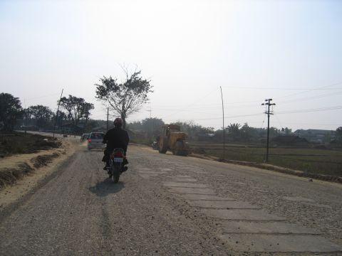 Road needing improvement