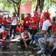 I arrived at 9 am, 30 000 to 40 000 Red Shirts have already gathered at Sanam Luang and surroundings. The festivities began with a Brahman ceremony. Songs were sung on […]