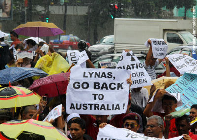 I do not need to write a 'for dummies' guide for Malaysians. They have made up their minds about Lynas...