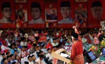 Najib Razak UMNO GA 2013