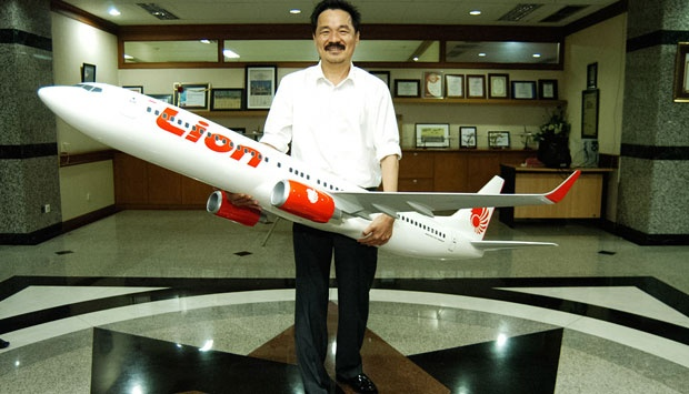 New deputy chairman of PKB, Rusdi Kirana, in his prior role as President Director of Lion Air