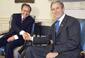 Mahathir and Bush