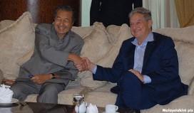 Mahathir and Soros