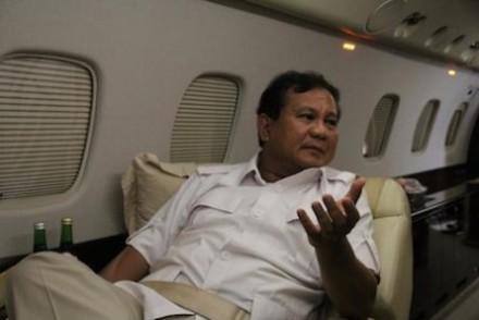 'Kalah bukan opsi', mengungkap Prabowo kepada wartawan Straits Times, 6/7. (Foto: Straits Times)
