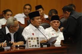 Prabowo in court