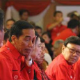 Megawati takes a swipe at her party's president at the PDI-P congress in Bali.