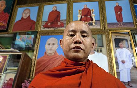 969 leader Ashin Wirathu. Photo: Al Jazeera.