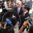Ross Tapsell reports on Australian PM's fly in, fly out visit to Jakarta.