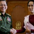 Myanmar's champion of democracy must win over former military masters.