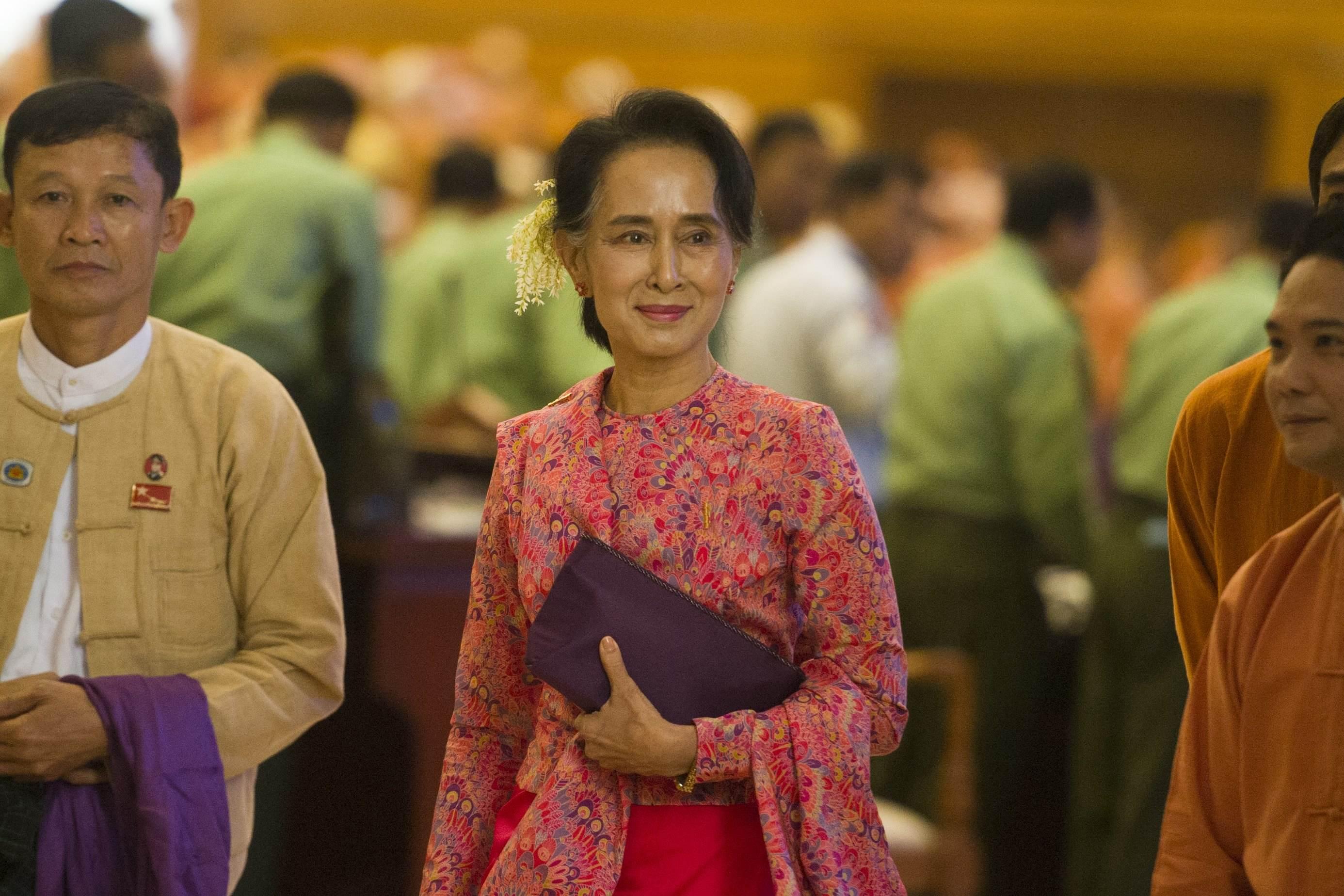 Photo: AFP / Ye Aung THU