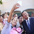 How Cambodia's PM is scoring big political points via social media.