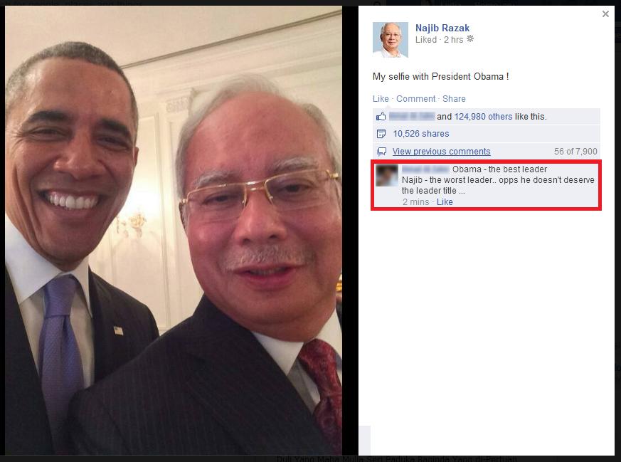 Najib+Obama