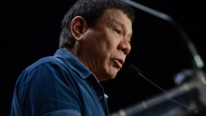 Philippines presidential candidate's comments on Australian victim leave a bad taste.