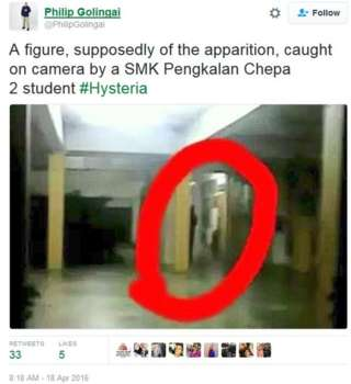 MalaysiaApparition