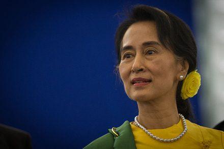 Daw Aung San Suu Kyi. Photo from Wikimedia commons.