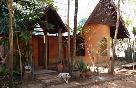 The benefits of mud houses new mandala for Adobe construction cost