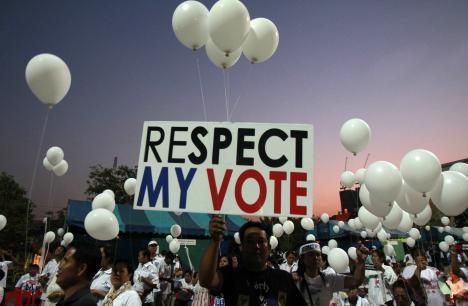 respect my vote