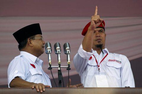 INDONESIA-ELECTION-NAZI