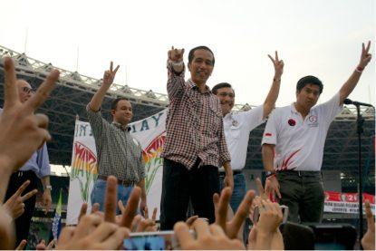 Jokowi at GBK