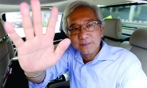 The Edge Media Group publisher and group CEO Ho Kay Tat says it was a duty to pursue the truth after uncovering documents relating to 1MDB. Photo by Malaysian Insider.
