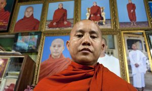 969 leader Ashin Wirathu. Photo: Al Jazeera.