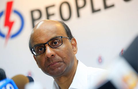 Singapore Deputy Prime Minister Tharman Shanmugaratnam. Photo: Ernest Chua/ Today