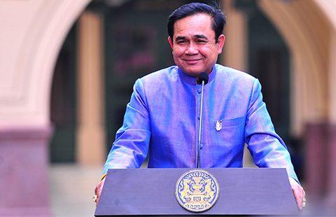 Thailand's junta leader General Prayuth Chan-ocha. Photo: Prachatai on flickr https://www.flickr.com/photos/prachatai/
