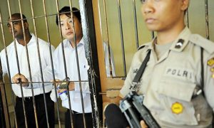 Australians Myuran Sukumaran (left) and Andrew Chan were executed in April for drug-related offences. Photo: Reprieve.org