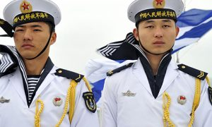 People's Liberation Army (PLA) Navy sailors. Photo: Wikimedia commons
