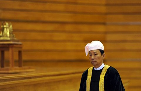 Thura Shwe Mann.  Photo: AFP / Soe Than Win.