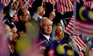 NajibRazak-flags