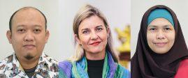 Najmah, Sharyn Graham Davies and Kusnan