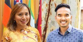 Ruji Auethavornpipat and Maria Tanyag
